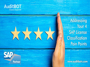 Addressing Your 4 SAP License Classification Pain Points